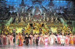 甘肃经典舞剧《丝路花雨》拉开临夏州迎春文化活动序幕