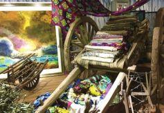 感受古老时尚的丝路染缬艺术——探访兰州交通大学丝绸之路染缬艺术博物馆