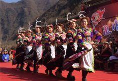 甘肃文县古老部族白马藏族演绎