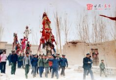 甘肃高台民间文艺活动:铁芯子