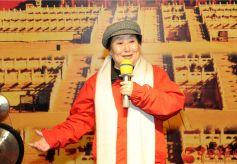 著名秦腔表演艺术家李爱琴携弟子在天水麦积区献艺