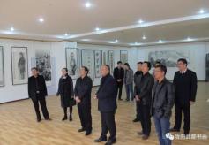 陇南市武都区举办翰墨传情贺新春书画展