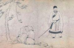 高士王绎与高士倪瓒共画高士杨竹西——《杨竹西小像》里的高士之风