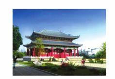 兰州榆中县文化产业园开工建设
