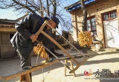庆阳:老木匠的手艺活