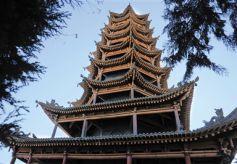 张掖五行塔:佛国胜境中的塔影奥秘