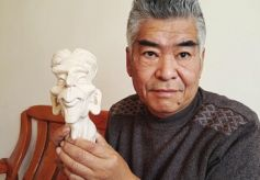 白银草根泥塑家张春立:20多年创作2000件泥塑作品