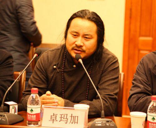 与会的藏学专家们交流发言