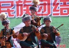 """甘肃哈萨克族欢度""""纳吾热孜节"""""""