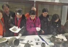 甘肃省验收平凉等市可移动文物保护项目