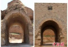 甘肃敦煌莫高窟名列十大全国优秀文物维修工程