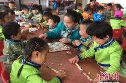 甘肃肃北幼儿园寓教于乐传承传统文化