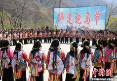 """甘肃藏乡舟曲举办传统""""跑马节""""文化活动"""