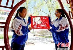 甘肃山丹校园设民间艺术课程弘扬承袭传统文化