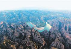 甘肃炳灵丹霞国家地质公园丹霞奇观