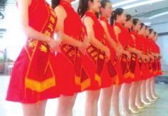 """甘肃""""兰马""""赛场上的""""红精灵开幕式颁奖仪式礼仪培训"""