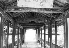 甘肃陇南龙凤桥西北古廊桥艺术的美丽遗存