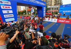 2017兰州国际马拉松赛11日在兰成功举办