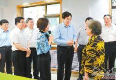 郭金龙在甘肃调研时强调以精神文明建设的丰硕成果迎接十九大