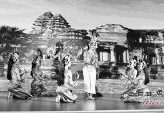 柬埔寨王国艺术家在甘肃表演传统文化节目