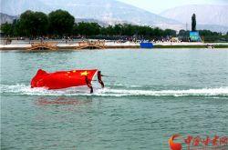 第七届甘肃敦煌行·丝绸之路国际旅游节精彩水上表演