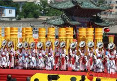 2017年公祭中华人文始祖伏羲大典在甘肃天水隆重举行