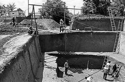 甘肃省考古研究对宁县石家墓群进行抢救性挖掘