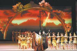 大型舞剧《一画开天》在甘肃天水市演出