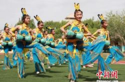 甘肃敦煌印象:传统文化进校园