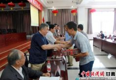 《刘富财书法作品集》首发暨赠书仪式在甘肃靖远举行