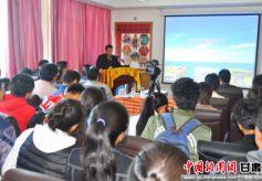 甘南唐卡格萨尔长卷绘画工程在甘肃民族师范学院启动