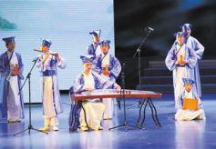 2017甘肃兰州市中小学中华经典诵读决赛举行