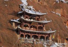 甘肃省张掖肃南马蹄寺:祁连深处的一束佛光
