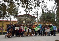 香港甘肃两地大学生访问祁丰藏族社区调研东纳藏族文化