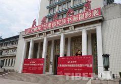 """石榴杯""""甘肃省民族书画摄影展在首都开展"""