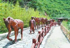 甘肃陇南历史不可缺少的文化元素:马与茶
