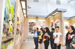 张掖书画名家作品晋京展(兰州展)在甘肃省省美术馆举行