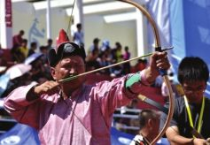 """甘肃天水第三届""""李广杯""""国际传统射箭锦标赛将于在天水师范学院举行。"""
