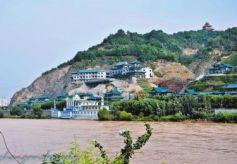 甘肃:绿盈金城 花开两岸 生态兰州山川秀美