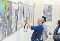 甘肃青年画家七人美术作品联展开幕
