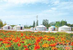 甘肃肃北县大力发展原生态民族文化旅游业(图片)