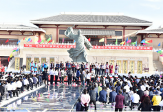 甘肃瓜州举办第三届张芝文化艺术节