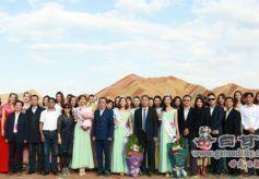 世界旅游小姐年度皇后丹霞直选赛在甘肃张掖成功举办