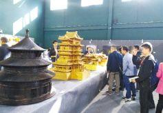 中国传统建筑彩画文化展亮相甘肃永靖