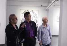 王清州水墨作品展在北京798感叹号艺术空间开幕