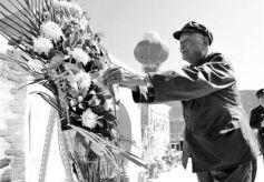 甘肃卧龙岗园林公墓举行公祭英烈活动