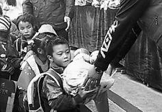 志愿者为甘肃临洮两小学捐赠爱心物资