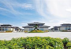 甘肃敦煌文博会场馆首次对游客开放