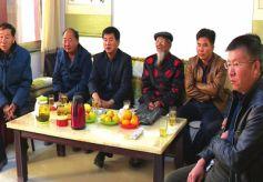 甘肃敦煌90岁老党员于得李 希望祖国越来越强大