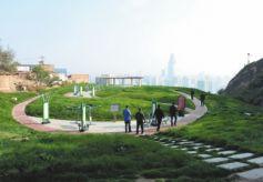 """甘肃兰州市南北两山提档升级 打造城市""""背景墙"""""""